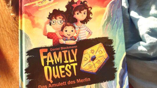 """Family Quest. Das Amulett des Merlin"" – Daniel Bleckmann"