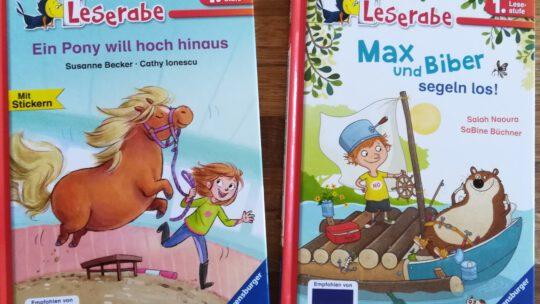 Schöne und witzige Erstlesebücher zum Schulanfang