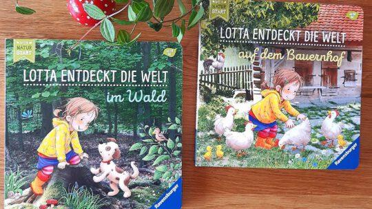 """Neue Buchreihe für die ganz Kleinen: """"Mein Natur-Start: Lotta entdeckt die Welt"""""""