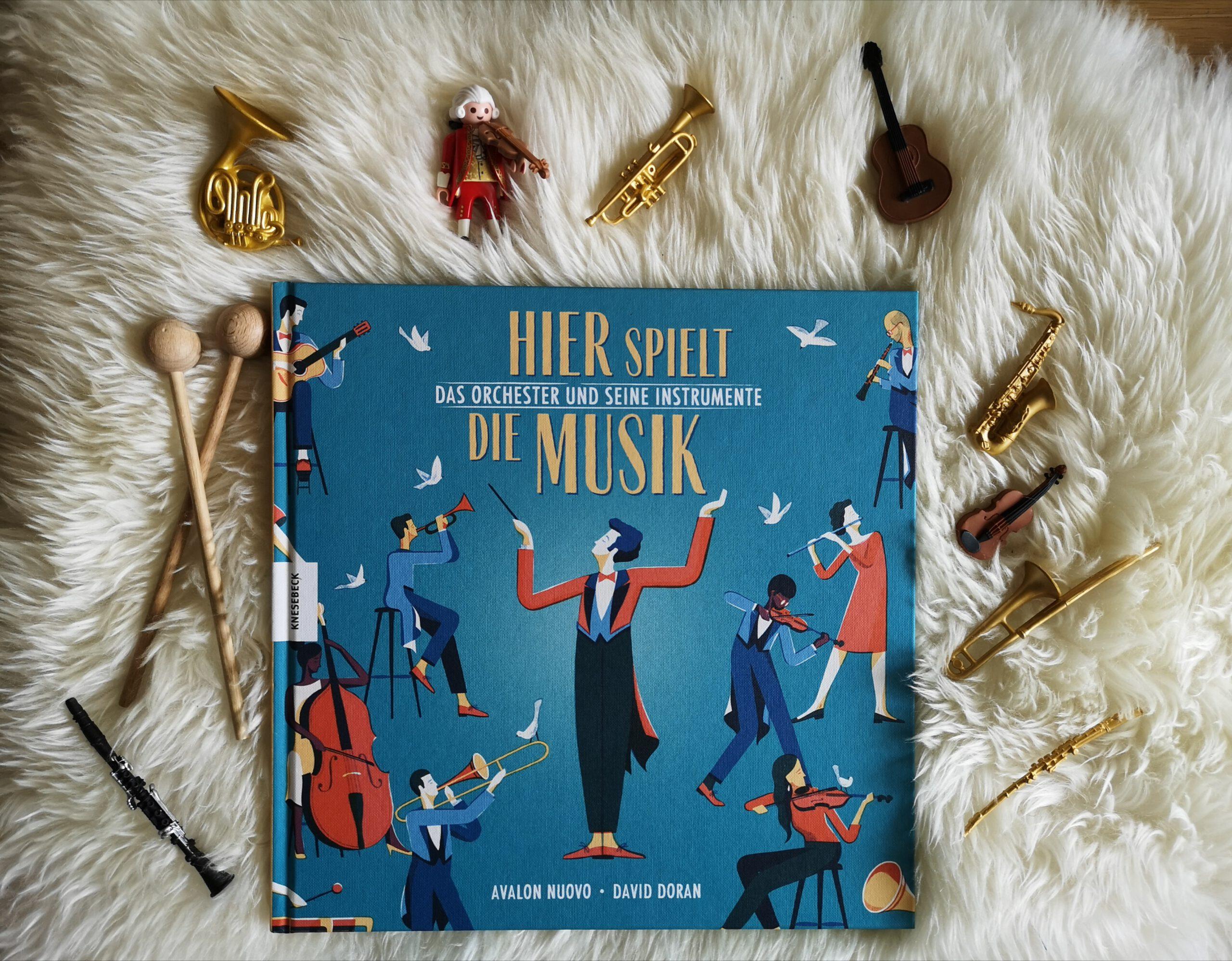 Spannendes Sachbuch über das Orchester: Hier spielt die Musik