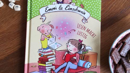 """(Vor) Lesestarter mit viel Herz: """"Emmi und Einschwein: Lesen macht lustig"""" – Anna Böhm, Susanne Göhlich"""