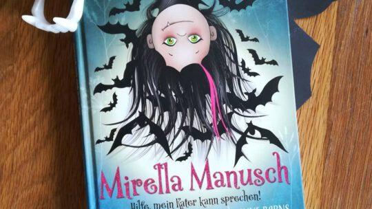 """Ein Kinderbuch passend zu Halloween: """"Mirella Manusch. Hilfe, mein Kater kann sprechen"""" – Anne Barns, Christin-Marie Below"""