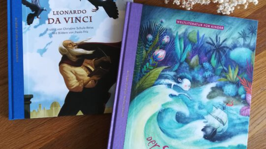 Kunst und Kultur für Kinder – fantastische Bücher aus dem Kindermannverlag