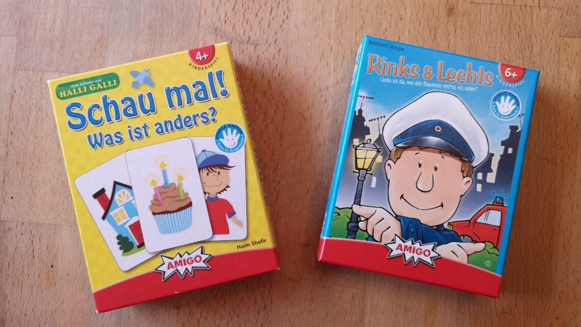 Kleine Spiele zum Mitnehmen aus dem AMIGO Verlag