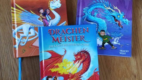"""Spannende Kinderbuchreihe für Leseanfänger:  """"Drachenmeister"""" – Tracey West"""