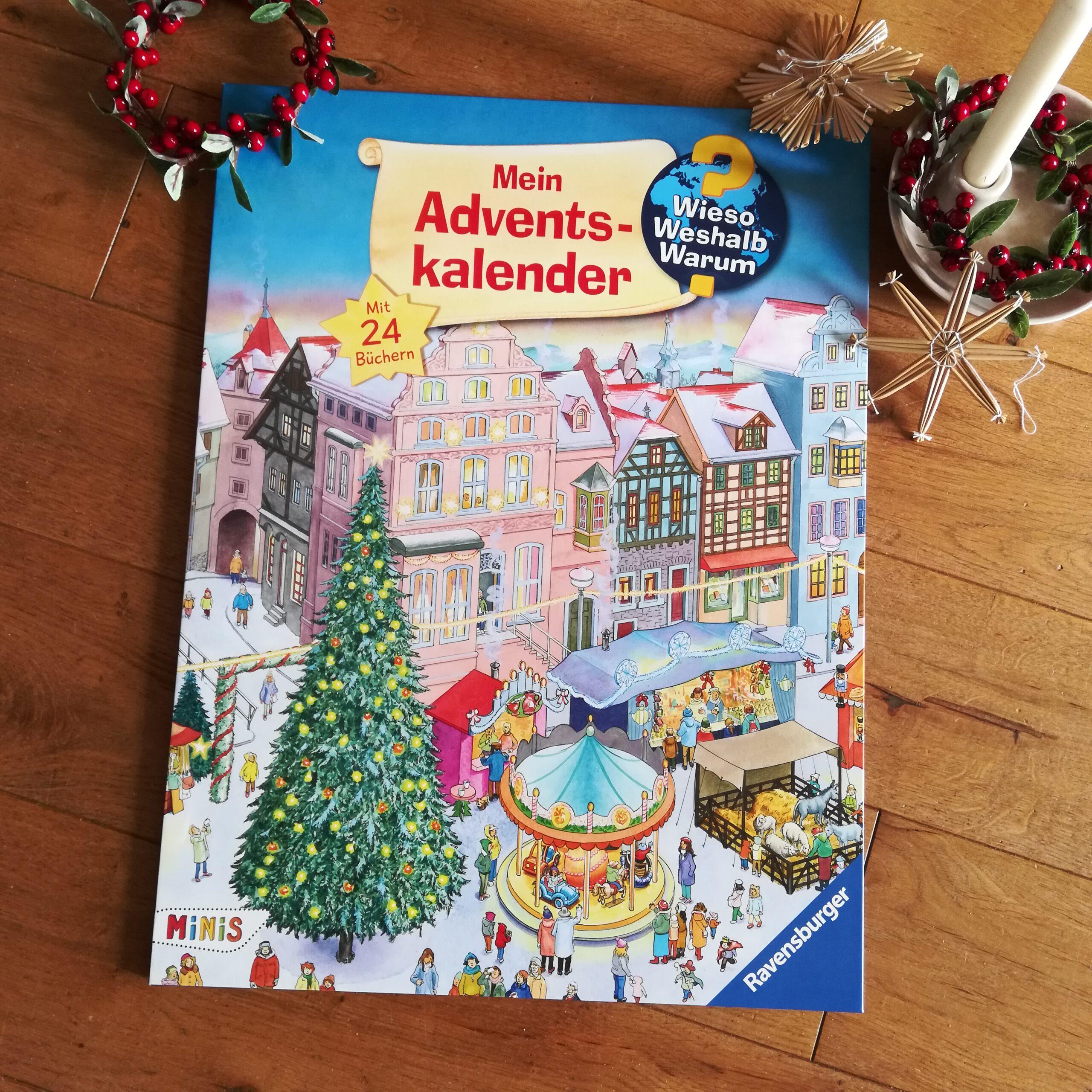 """Eine Adventszeit voller Bücher: """"Wieso? Weshalb? Warum? Mein Adventskalender"""""""