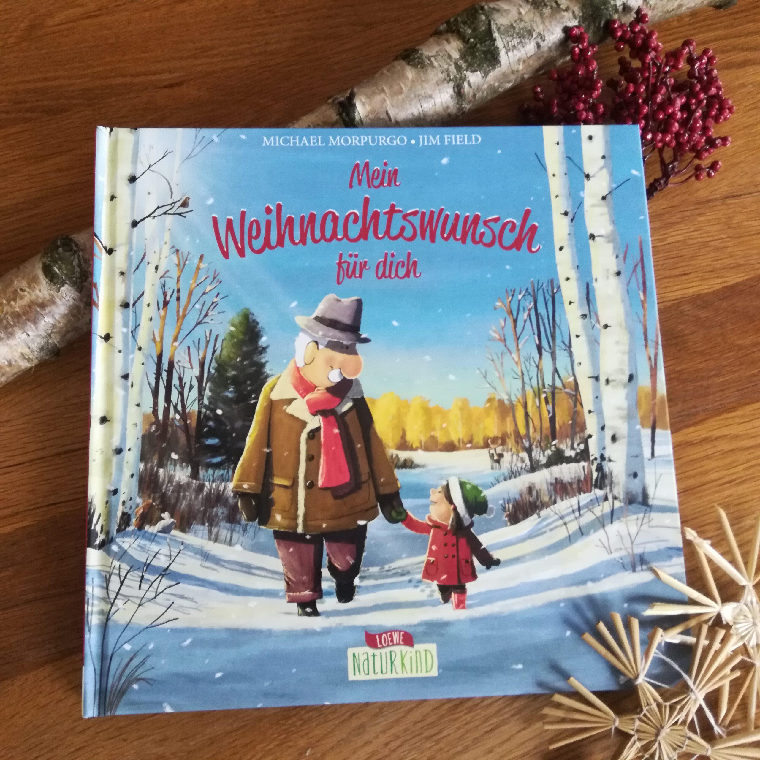 """""""Mein Weihnachtswunsch für dich"""" – Michael Morpurgo, Jim Field"""