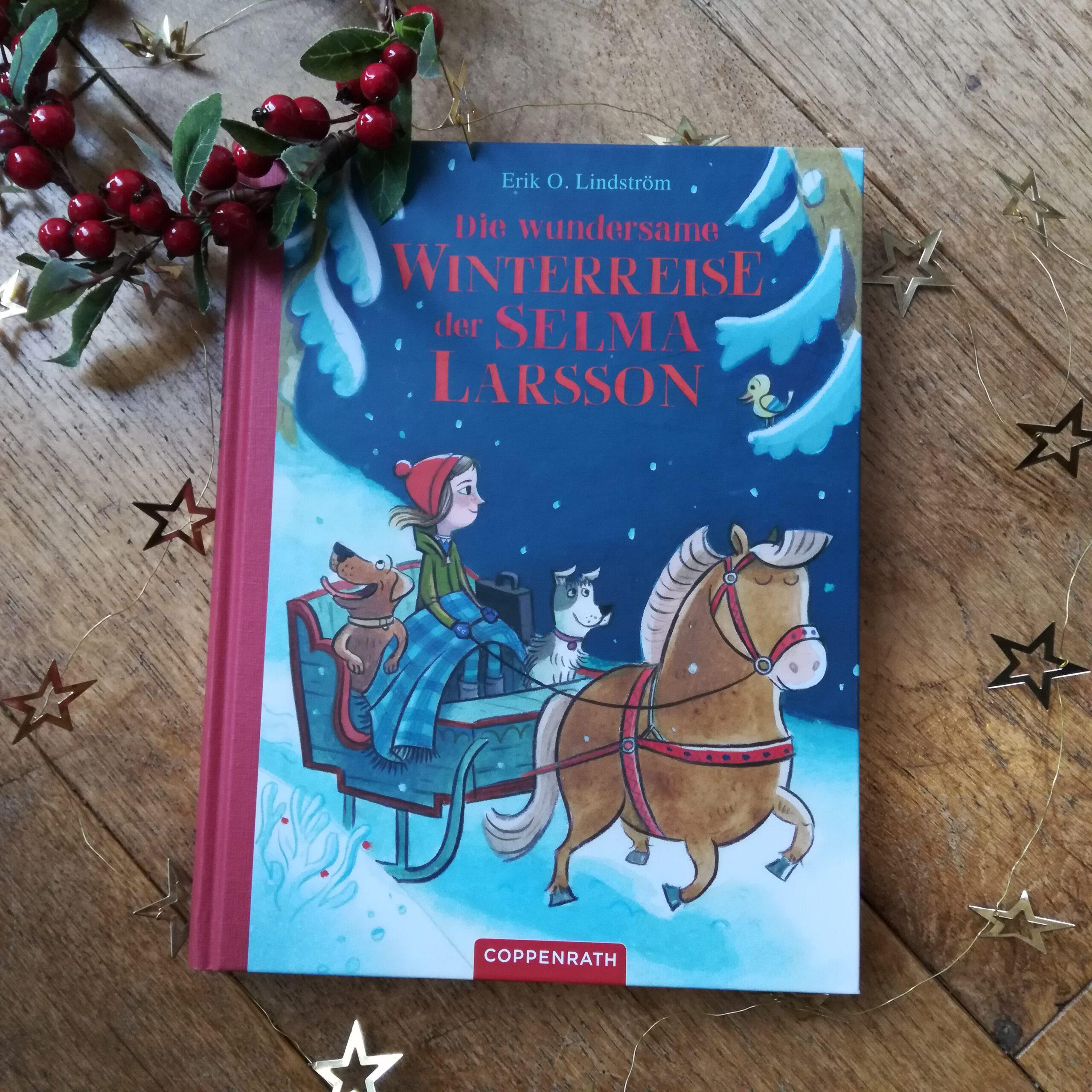 """""""Die wundersame Winterreise der Selma Larsson"""" – Erik O. Lindström"""
