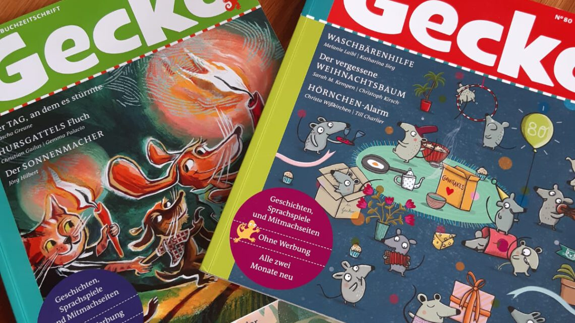 """Zeitschriften – Abos für Kinder: """"Gecko. Die Bilderbuchzeitschrift"""""""