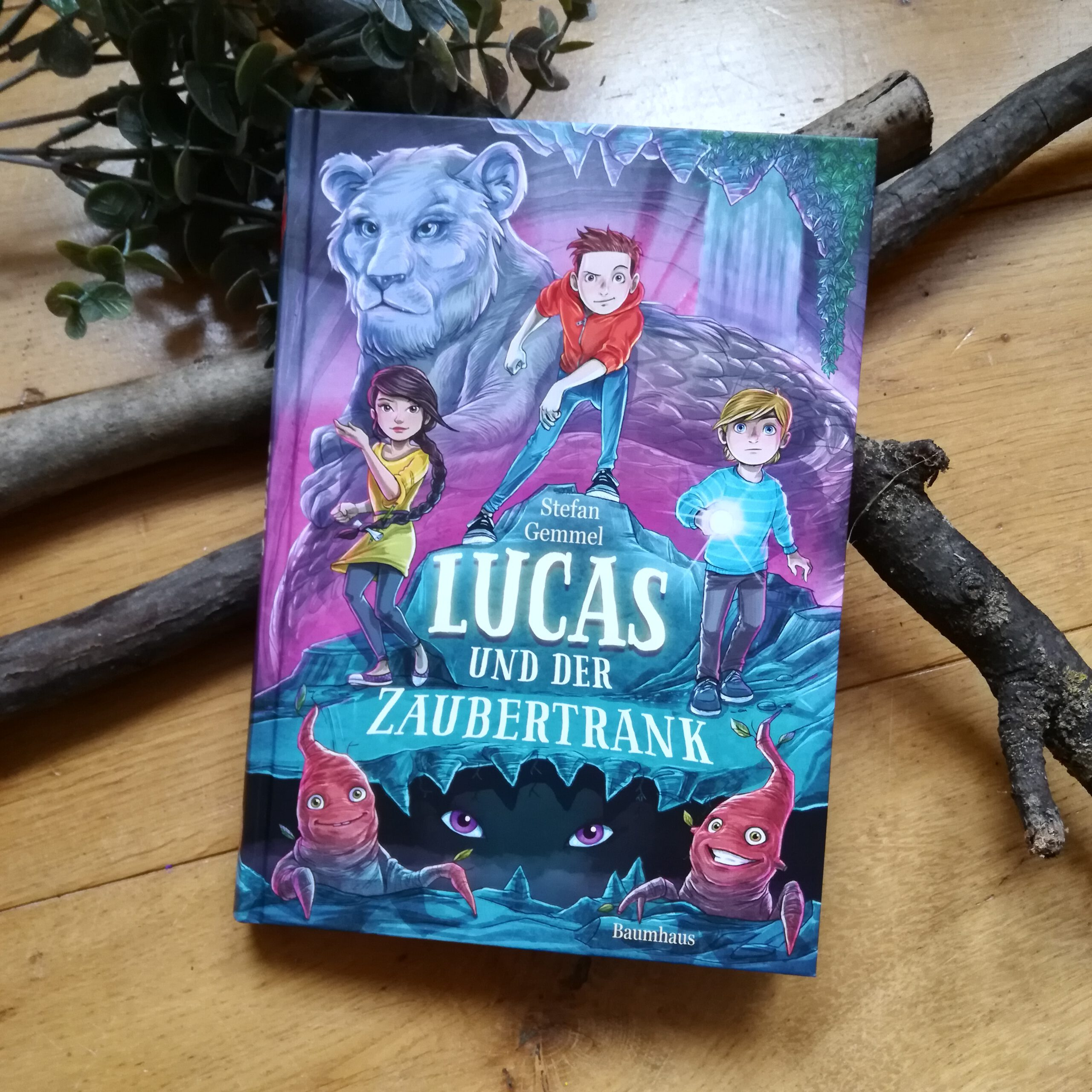 """Lucas und der Zaubertrank (Band 2)"" – Stefan Gemmel, Timo Grubing"