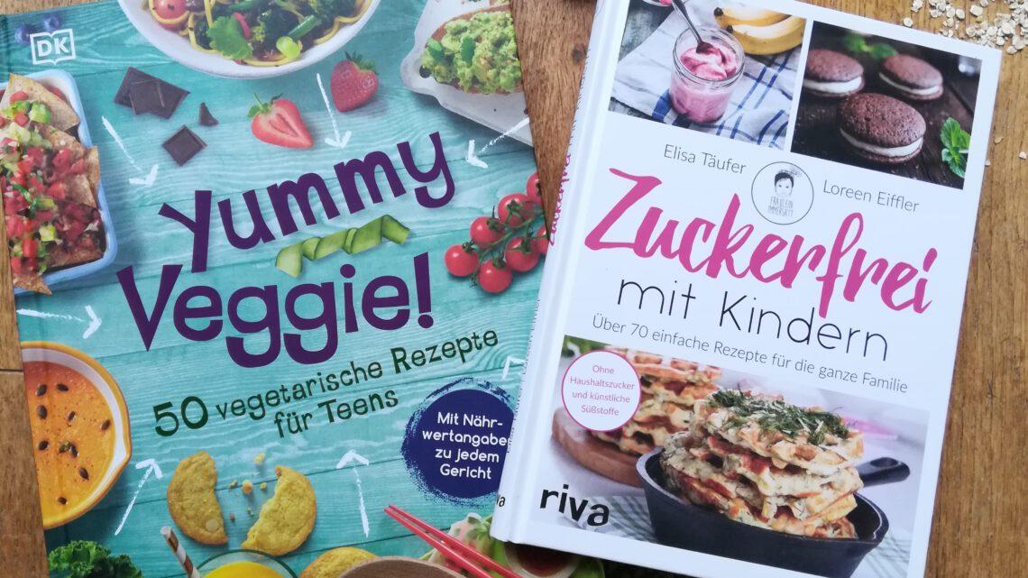 Vegetarisch oder zuckerfrei? Kochbücher für jeden Tag – ein schönes Geschenk zu Weihnachten