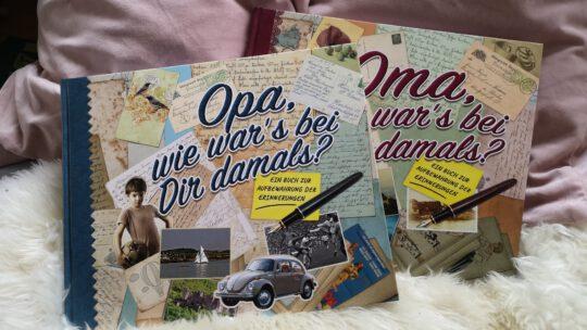 Oma, Opa, wie war's bei euch damals? – Erinnerungsbücher