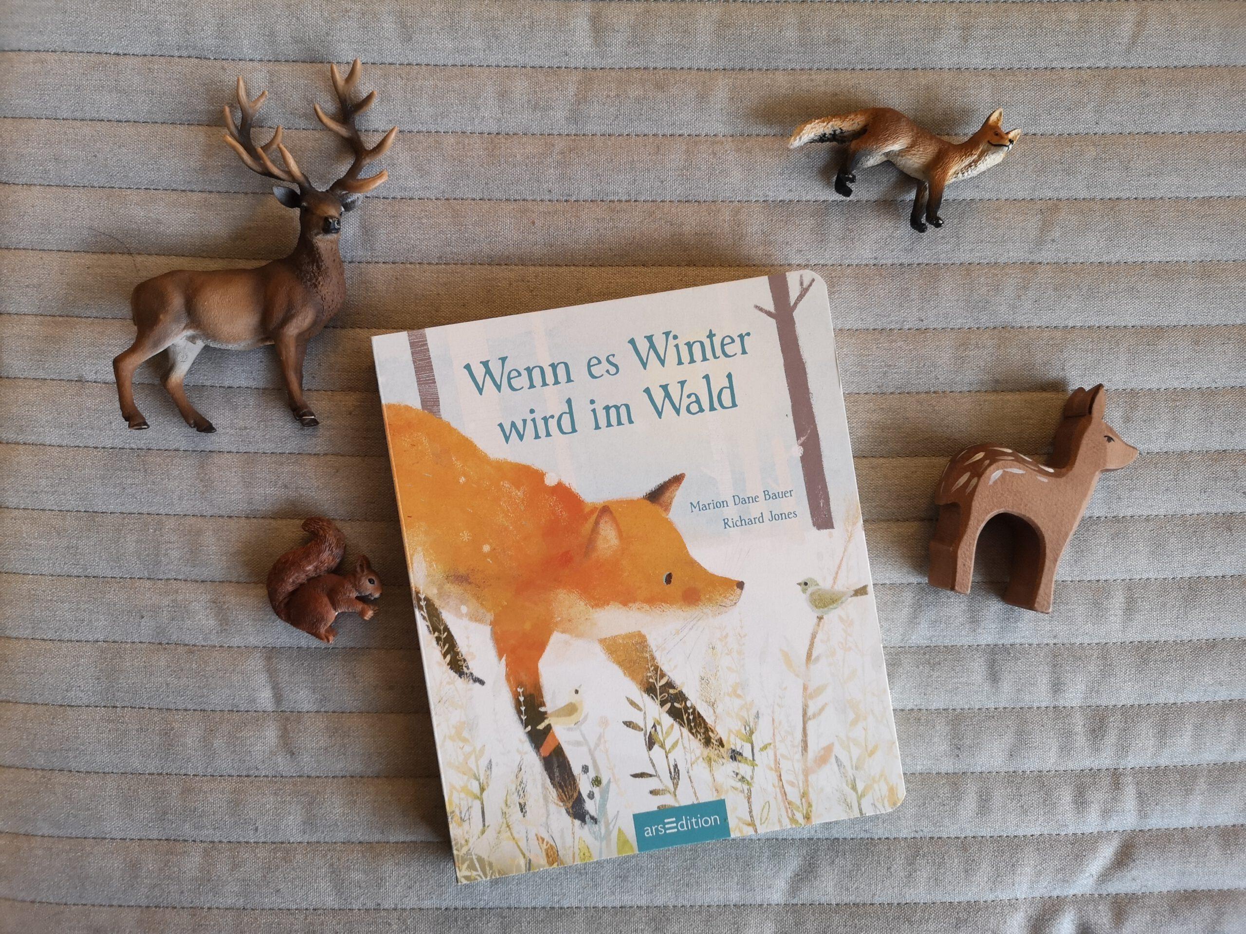 Wenn es Winter wird im Wald  – Marion Dane Bauer und Richard Jones