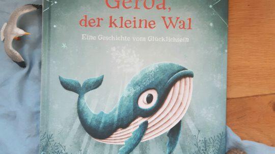 """""""Gerda, der kleine Wal. Eine Geschichte vom Glücklichsein"""" – Adrián Macho"""