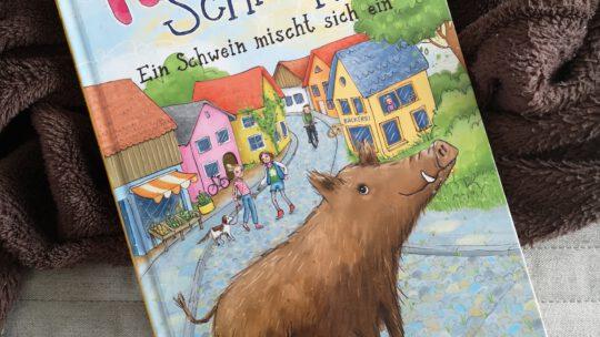 """""""Pauline Schnüffel – Ein Schwein mischt sich ein"""" von Ulrike Leistenschneider"""