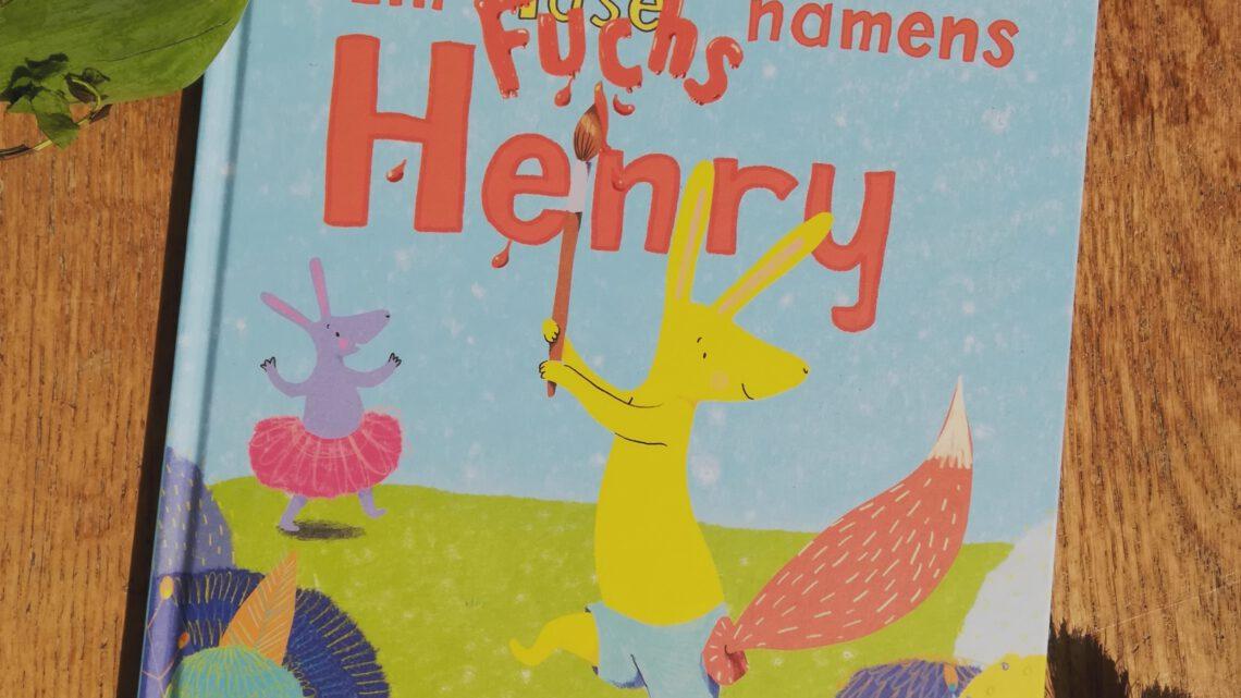 """Transgender als Kinderbuchthema: """"Ein Fuchs namens Henry"""" – Margaret Sturton"""