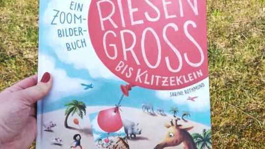 """""""Von riesengroß bis klitzeklein – Ein Zoom – Bilderbuch"""" – Sabine Rothmund, Julia Klee"""