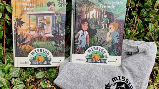 """""""Mission Hollercamp"""" von Lena Hach – eine spannende Abenteuerreihe!"""