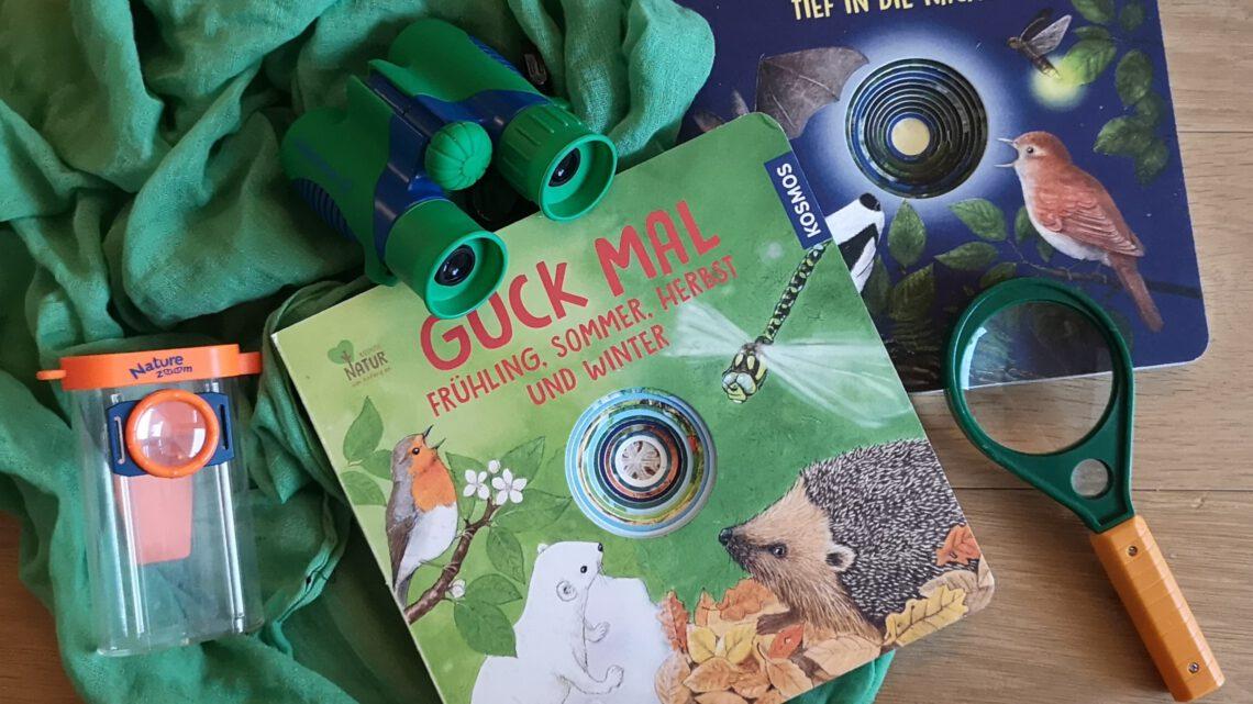 """""""Guck mal"""" – tolle Pappbilderbücher über die Natur"""