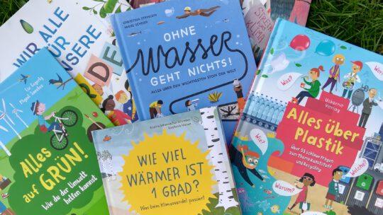 Mit kleinen Schritten fängt es an! Kinderbücher über Klimawandel und Umweltschutz