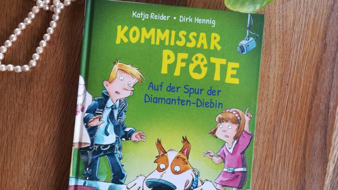 """""""Kommissar Pfote. Auf der Spur der Diamanten – Diebe"""" – Katja Reider, Dirk Henning"""