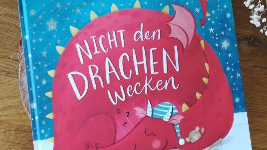 """Ein sehr niedliches Mitmachbuch: """"Nicht den Drachen wecken"""""""