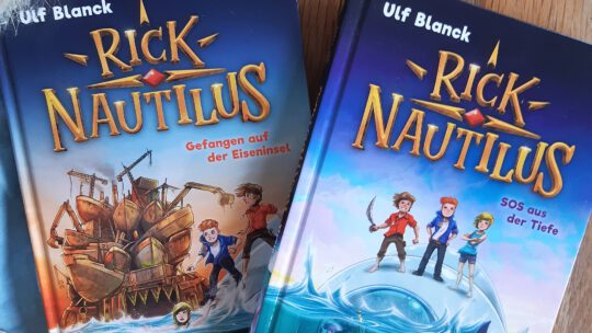 "Eine neue Lieblings- Buchreihe: ""Rick Nautilus"" – Ulf Blanck, Timo Grubing"