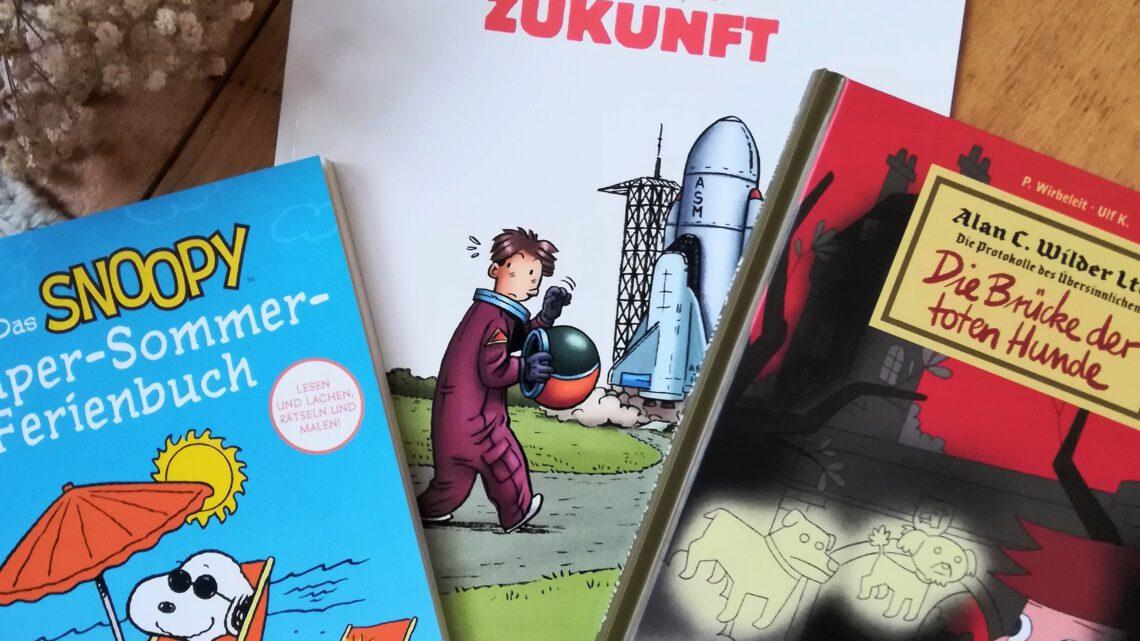 Carlsen Comics für Groß und Klein: Spannung, Grusel – und Spaß mit Snoopy