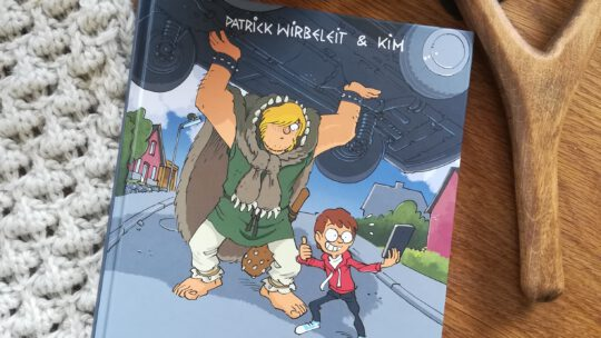 "Kids Comic Week 2021: ""Gorm Grimm. Gross, stark, hungrig"" – Patrick Wirbeleit, Kim"