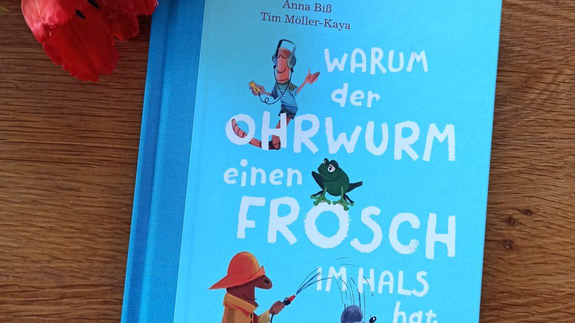 """[Verlosung] """"Warum der Ohrwurm einen Frosch im Hals hat… und andere Kuriositäten aus der Welt der Redewendungen"""""""
