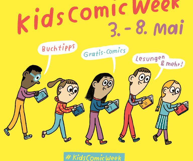 Kids Comic Week – Natürlich lieben wir Comics!