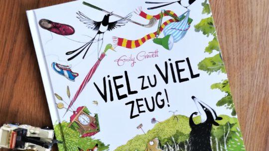 """""""Viel zu viel Zeug"""" – Emily Gravett"""