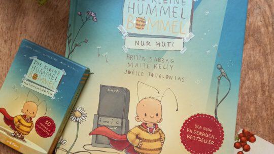 """""""Die kleine Hummel Bommel. Nur Mut"""" – Britta Sabbag, Maite Kelly, Joelle Tourlonias"""