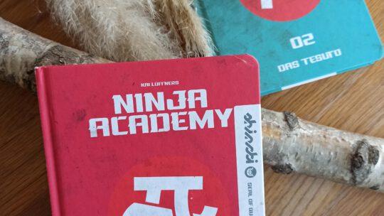 """""""Ninja Academy: Der Auftrag (Band 1)"""" und """"Das Tesuto (Band 2)"""" – Kai Lüftner"""