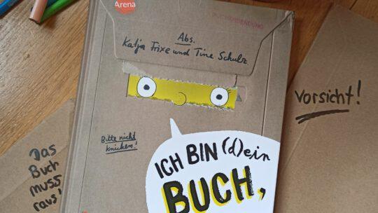 """""""Ich bin (d)ein Buch, hol mich hier raus! Vorsicht: Hier spukt ein Buch"""" -Katja Frixe, Tine Schulz"""