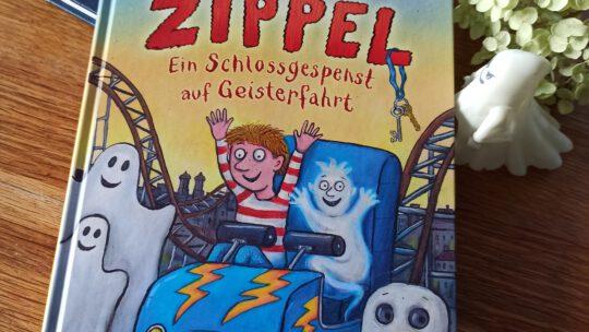 """""""Zippel. Ein Schlossgespenst auf Geisterfahrt"""" – Axel Rühle, Axel Scheffler"""
