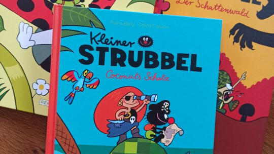 """""""Kleiner Strubbel"""" – Eine liebenswerte Kindercomic-Reihe ohne Worte"""