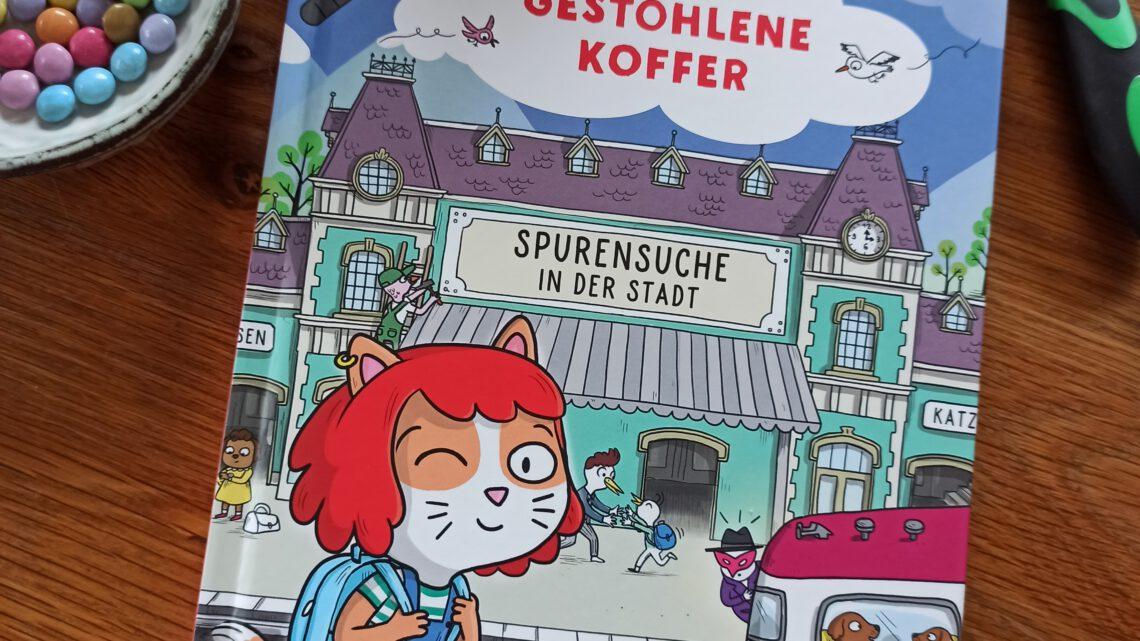 """""""Agatha Crispie. Rätsle mit! Der gestohlene Koffer. Spurensuche in der Stadt"""""""