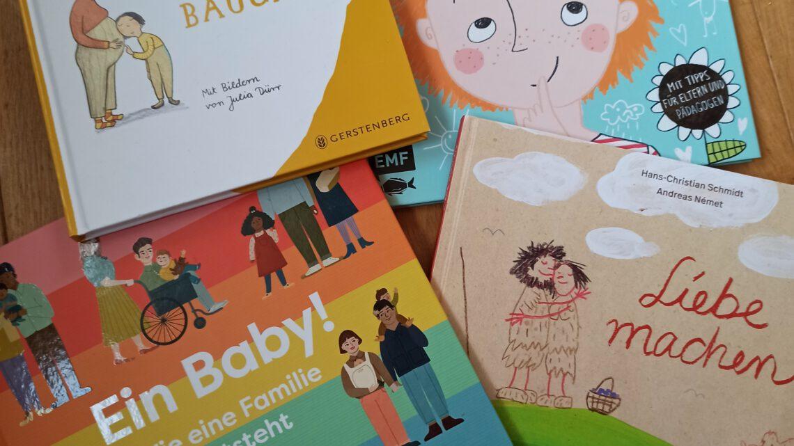 Kinderbücher über Aufklärung, Körperwissen und Sexualität