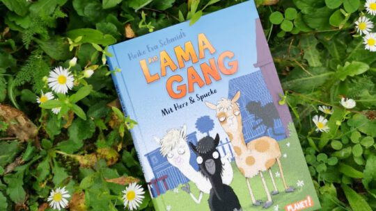 "Tierische Detektivgeschichte: ""Die Lama – Gang"" – Heike Eva Schmidt & Nikolai Renger"