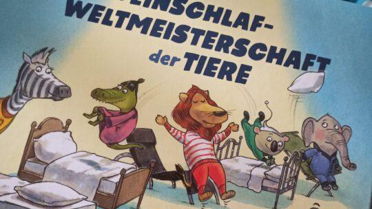 """""""Die Einschlafweltmeisterschaft der Tiere"""" – Daniel Napp"""