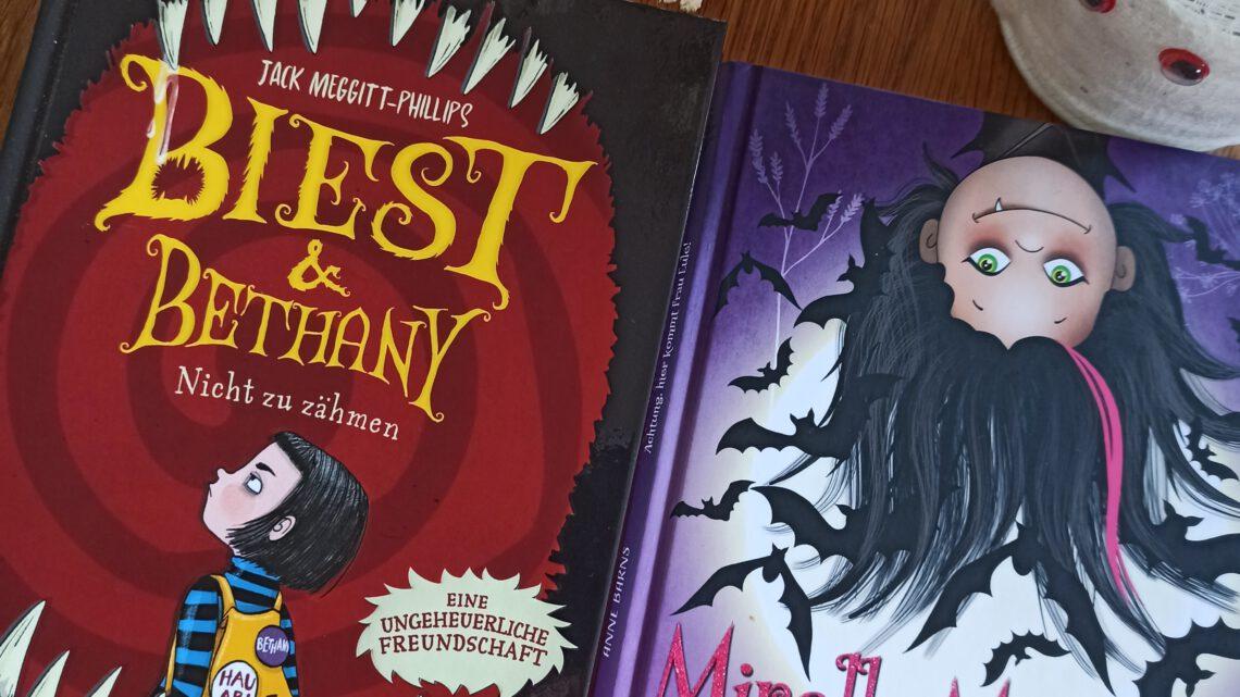 """Lesespaß – nicht nur zu Halloween: """"Mirella Manusch"""" und """"Biest & Bethany"""""""