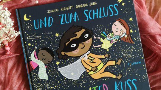"""Diverses Einschlafbuch """"Und zum Schluss ein bunter Kuss"""" – Klement & Jung"""