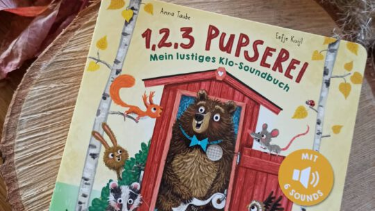 """1, 2, 3 Pupserei. Mein lustiges Klo – Soundbuch"" – Anna Taube, Eefje Kuijl"